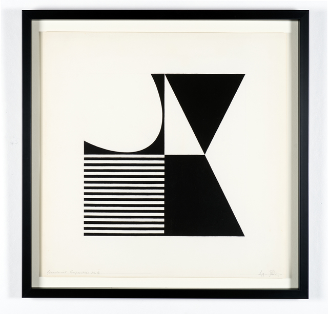 , 'Geometrical Composition #4,' 1960, RCM Galerie