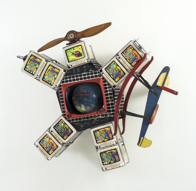 Nam June Paik, 'Spaced out & Spaced in', 1991, Gallery Hyundai