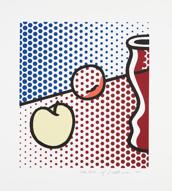 Roy Lichtenstein, 'Still Life with Red Jar', 1994, Phillips