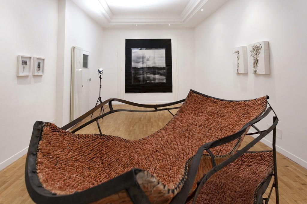 Installation view: Mattia Vernocchi, Luca Piovaccari