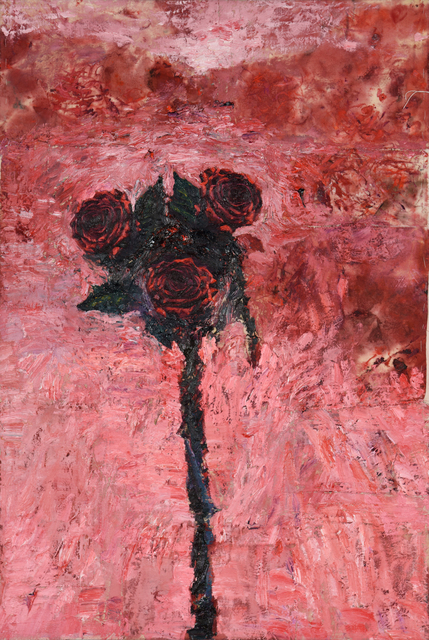 , 'Three Red Roses,' 2016, The Park Gallery