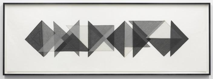 Elaine Reichek, 'Triangles #1,' 1977, Feuer/Mesler