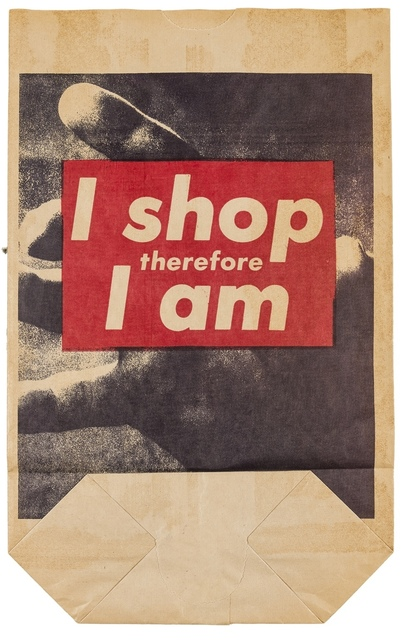 Barbara Kruger, 'I Shop Therefore I Am', 1990, Forum Auctions
