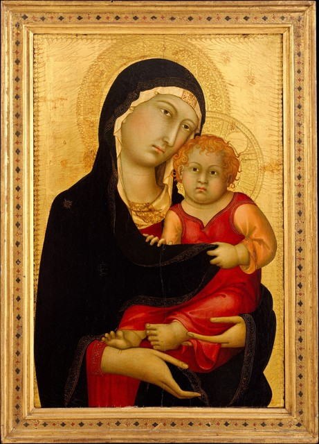 Simone Martini, 'Madonna and Child', ca. 1326, The Metropolitan Museum of Art