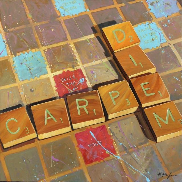 , 'Carpe Diem, Yolo,' 2016, Artspace Warehouse
