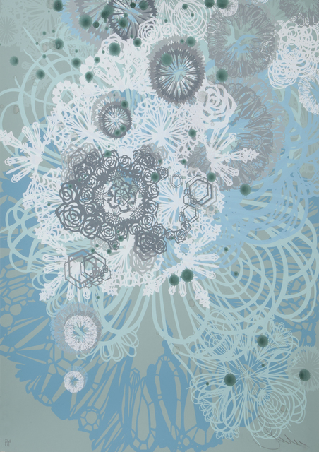 Swoon, 'Snow Blossom', Print, Screenprint on paper, Julien's Auctions