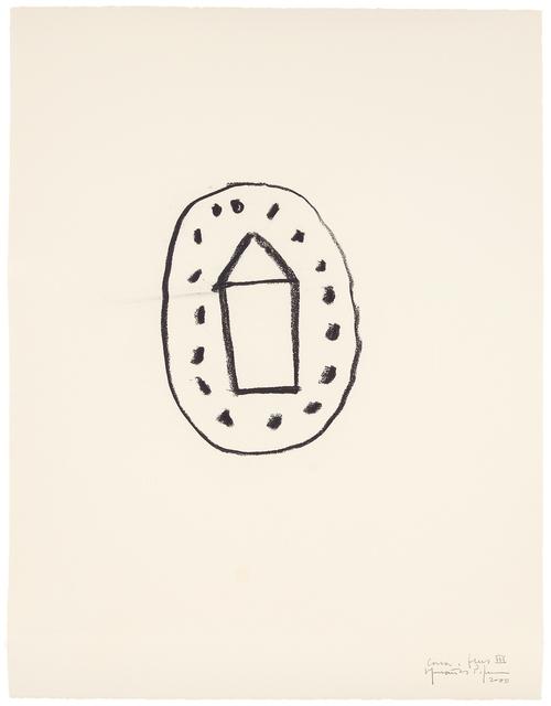 Joan Hernández Pijuan, 'Casa i flors III. 103', 2000, Galerie Boisseree