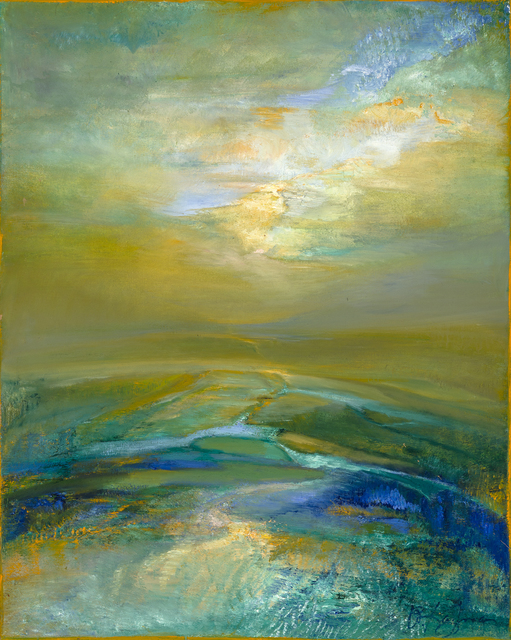 , 'Emerald Hue ,' 2015, Bowersock Gallery