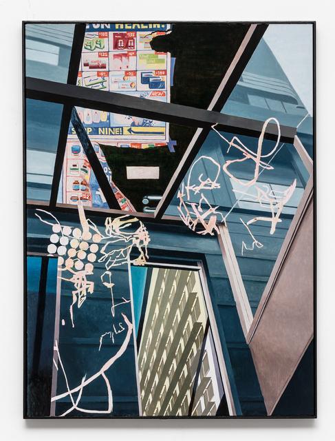 , 'Fold/Reflexion,' 2017, Sutton Gallery