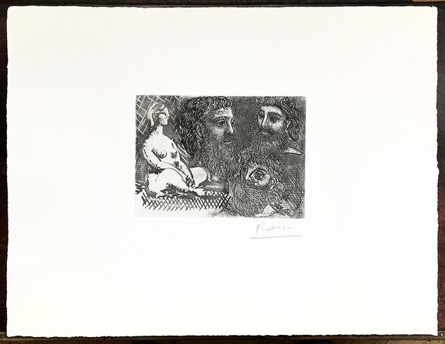 , 'Marie-Therese en idole et trois Grecs Barbus,' 1934, Fairhead Fine Art Limited