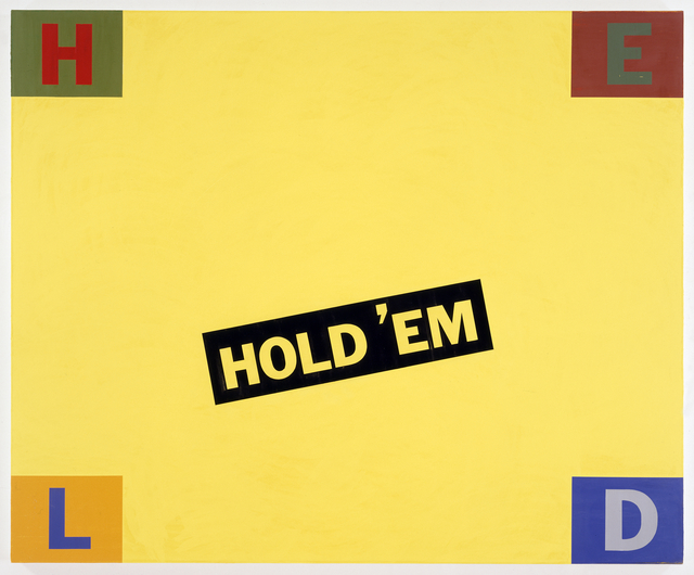, 'Mein Held der Spieler,' 1991, Postmasters Gallery