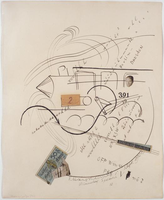 , '391 Berlin – Dresden,' 1921, Galerie Natalie Seroussi