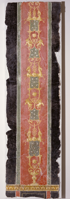 'Wall Fragment with Grotesques',  about 70, J. Paul Getty Museum
