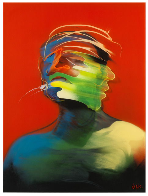 , 'Red Portrait (Movement),' 2013, Elms Lesters Painting Rooms