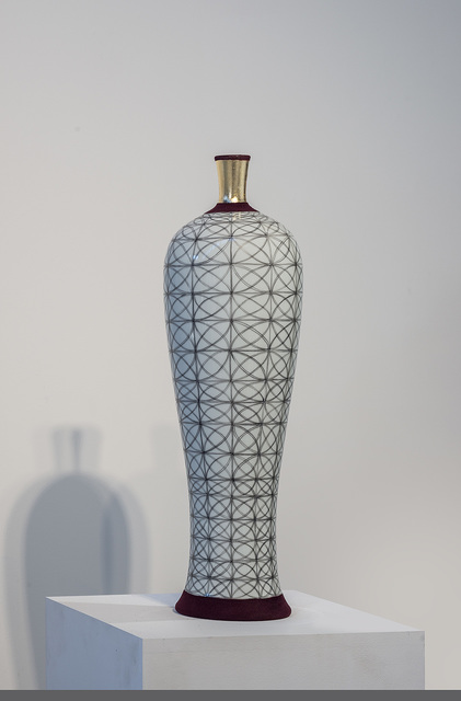 "Melanie Sherman, 'Vase with ""Kreis"" Pattern', 2016, Cerbera Gallery"