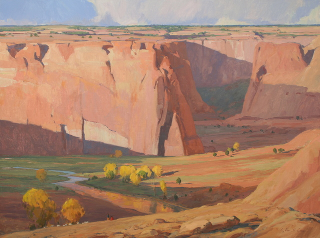 , 'Days End, Canyon de Chelly,' 2015, Gerald Peters Gallery Santa Fe