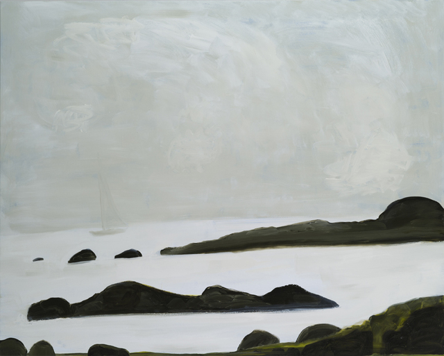 , 'Sky, Sailboat, Rocks and Sea,' 2014, Sears-Peyton Gallery