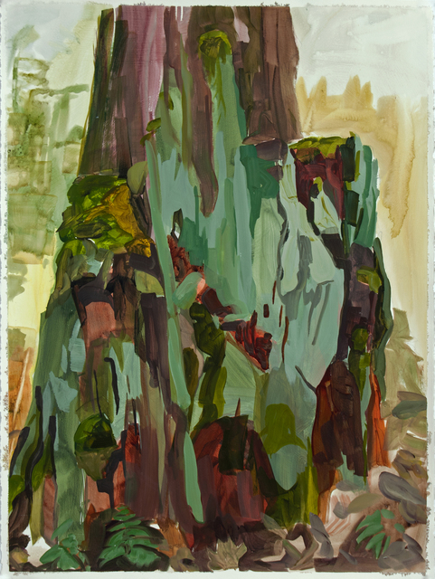 , 'Study for Big Stump,' 2015, Inman Gallery