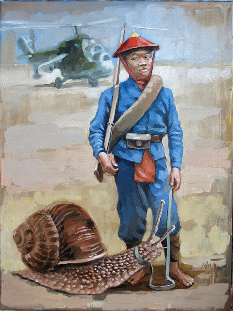 , 'Snail at the Airbase,' 2015, Art Vietnam Gallery