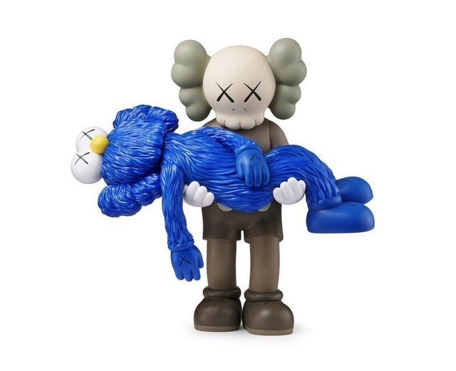 KAWS, 'GONE COMPANION BROWN AND BFF BLUE', 2019, Dope! Gallery