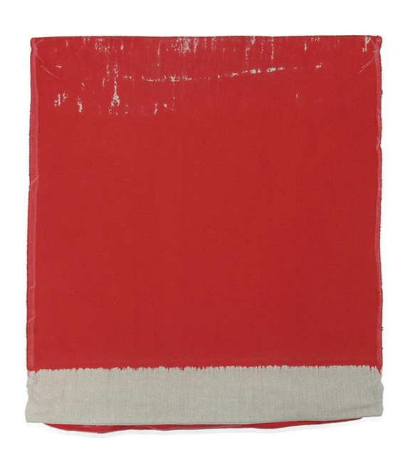 Analía Saban, 'Pressed Paint (Cadmium Red)', 2017, Print, Acrylic paint pressed in linen, Gemini G.E.L. at Joni Moisant Weyl