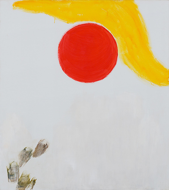 , 'Bowing to the Sun,' 2013, Dvir Gallery