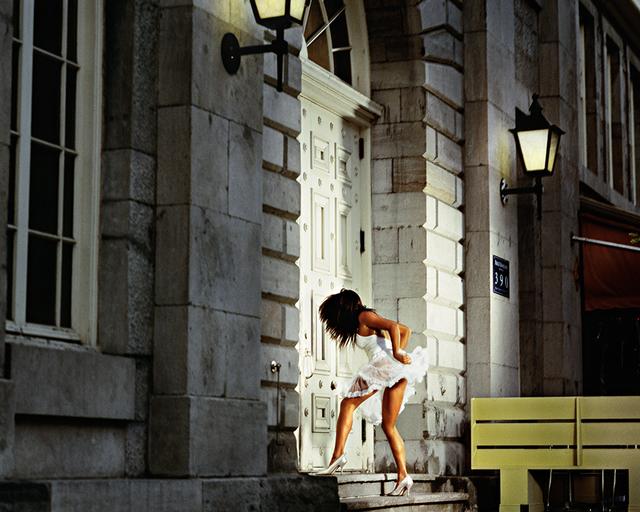 David Drebin, 'Storming In', 2009, Photography, Digital C-Print on Archival Paper, Isabella Garrucho Fine Art