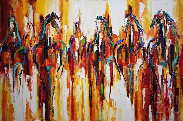 Laurie Pace, 'Canyon Herd', 2019, Mirada Fine Art