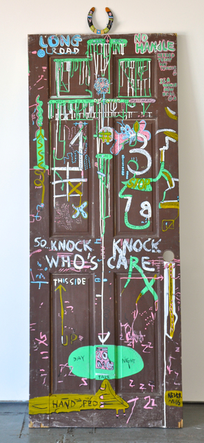 , 'Knock Knock Who's Care,' 2014, Wilding Cran Gallery