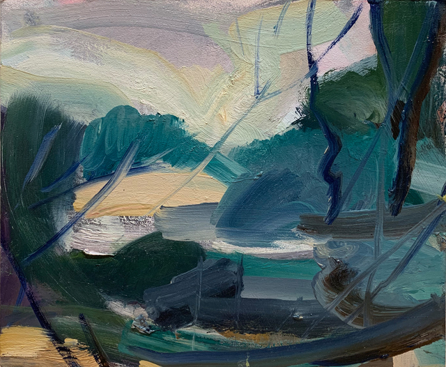 Lindy Guinness, 'Lake Gestures', 2019, Candida Stevens Gallery