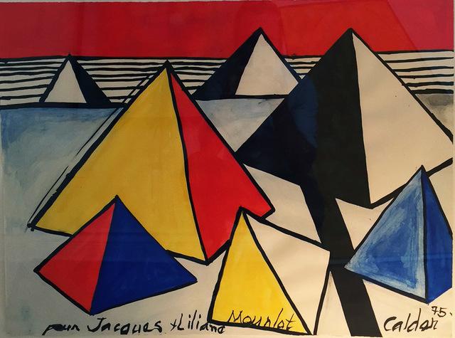 , 'Untitled (pyramids),' 1975, Antoine Helwaser Gallery