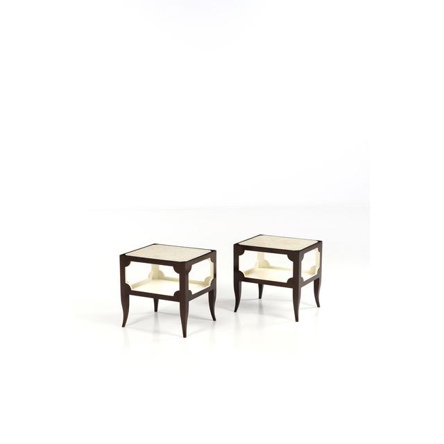 Tommi Parzinger, 'Pair of bedside tables', 1955, Design/Decorative Art, Marbre et noyer, PIASA