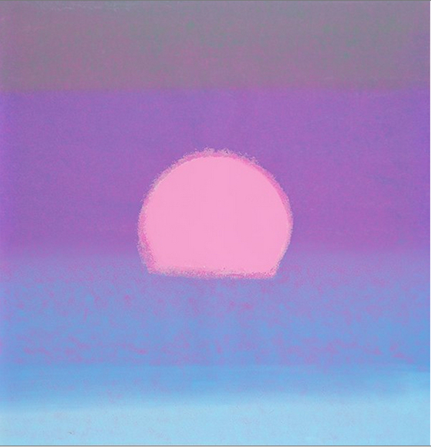 Andy Warhol, 'Sunset (Unique) (Purple/ Blue)', 1972, Revolver Gallery