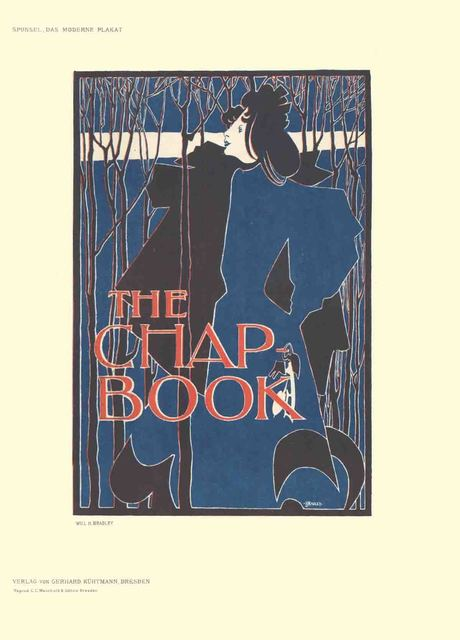 William H. Bradley, 'Will H. Bradley - The Chap Book - 1897', 1897, ArtWise