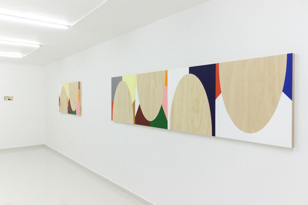 Left to right: Otto Berchem — Silver Tongued (study) (2014) / Knotted Tongues (2014) / With Tongue of Wood (2014)