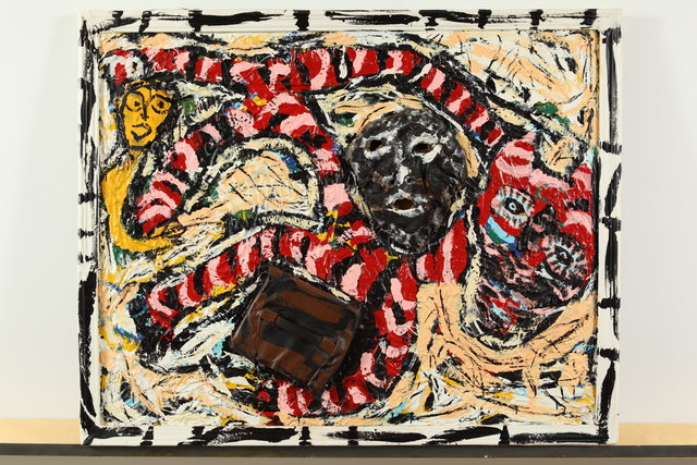 , 'Running Negro,' 1992, Bill Lowe Gallery