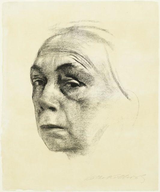 Käthe Kollwitz, 'Selbstbildnis', 1924, Print, Lithograph, Koller Auctions