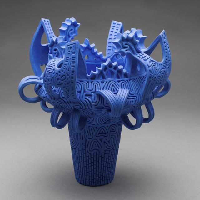 , 'Jōmon Vessel (Blue),' 2010, Hieronymus