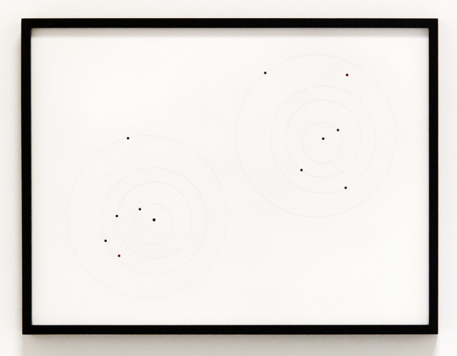 , 'Apophis Orbit Drawing  (April 13, 2036, .375 AU / July 17, 2034, .899 AU),' 2012, Christopher Grimes Gallery
