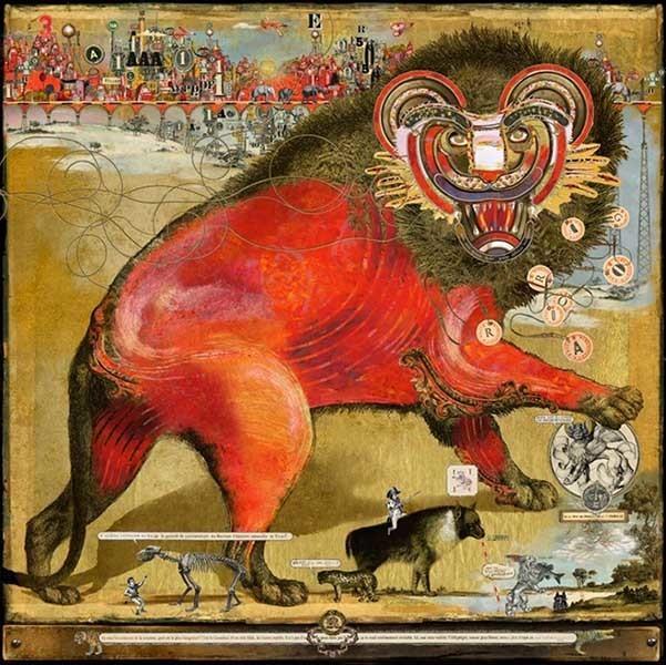 , 'Red Lion,' 2017, Galerie Bayart