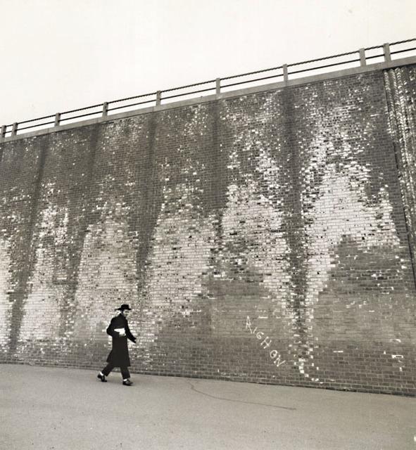 Arthur Tress, 'A Hassidic Rabbi Walks across a Highway Underpass, Brooklyn, NY', 1968/1968, Contemporary Works/Vintage Works
