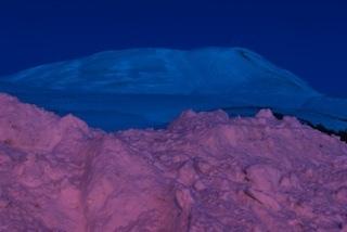 , 'Streetlight/Twilight: Husavik Mountain/Purple,' , Fabrik Projects Gallery