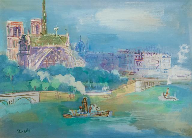Jean Dufy, 'L'abside de Notre Dame', 1888-1964, Artrust