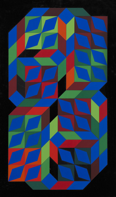, 'Tridium-PPP,' 1966, BAILLY GALLERY