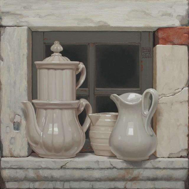 , 'Coccio e pietra,' 2017, Galleria Punto Sull'Arte