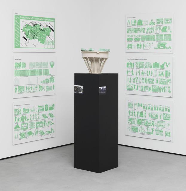 , 'Choreografie einer Landschaft - Woher dieKohle kommt und wer die Zeche zahlt,' 2012, Galerie Barbara Weiss