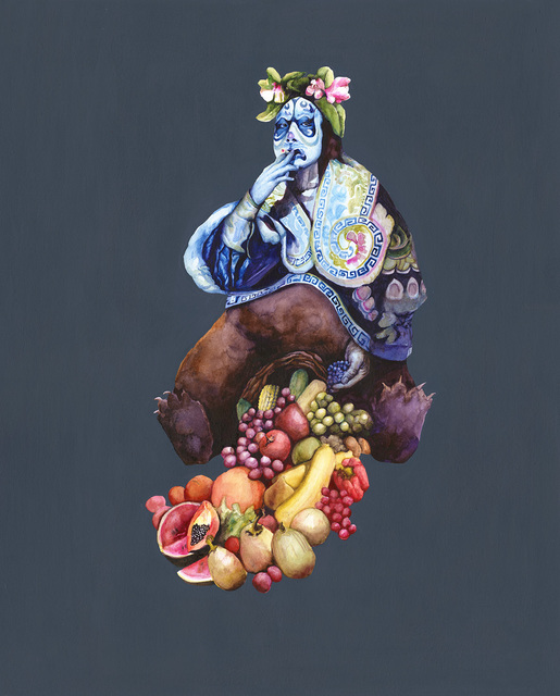 , 'The Great Mother / Cornucopia / Hard Work of Creating,' 2017, Arusha Gallery