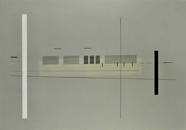 , 'Multigrafia a nero [Multigraphy in black],' 1974, Richard Saltoun