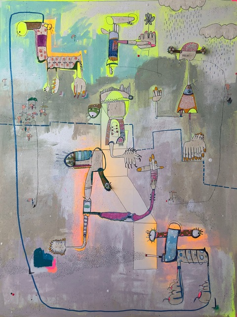 , 'The other Moon,' 2019, Juan Silió