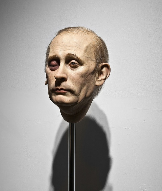 , 'Punching Putin,' 2014, UNIX Gallery